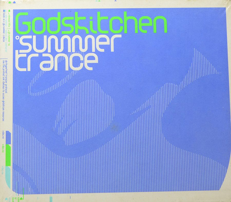 CD Godskitchen - Summer Trance - Importado England - Lacrado