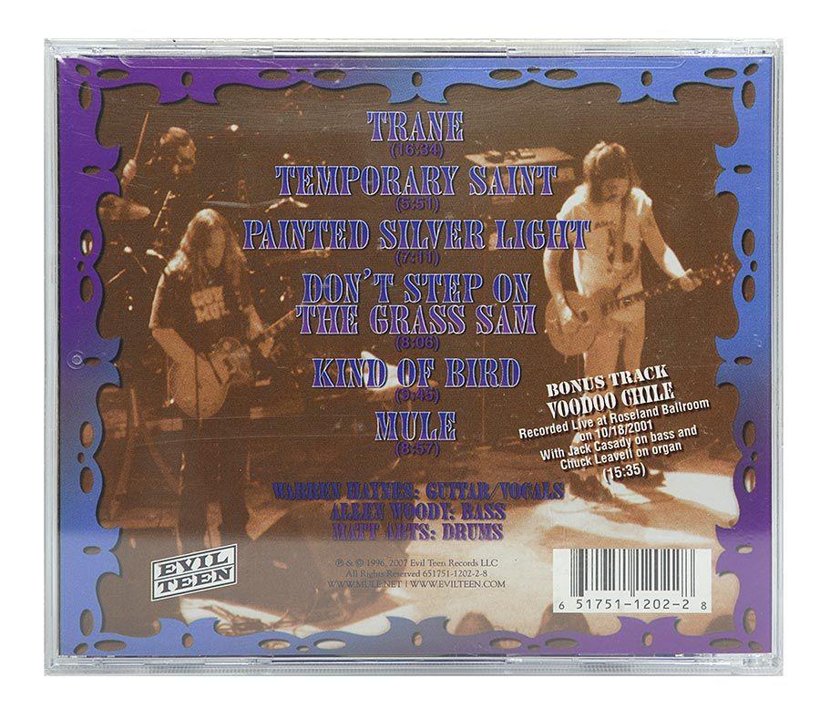 Cd Gov't Mule - Live At Roseland Ballroom - Importado - Lacrado