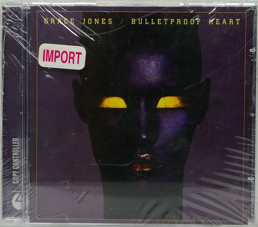 CD Grace Jones - Bulletproof Heart - Lacrado - Importado