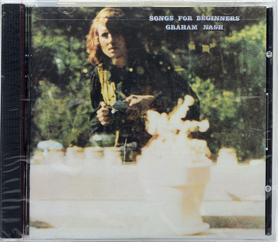 CD Graham Nash - Songs For Beginners - Lacrado - Importado