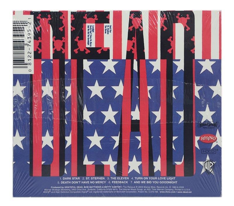 CD Grateful Dead - Live Dead - Importado - Digipack - Lacrado