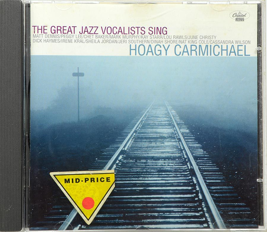 CD Great Jazz Vocalists Sing Hoagy Carmichael - Importado