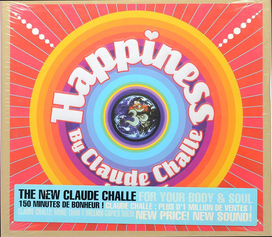 Cd Happiness By Claude Challe & Jean-Marr - Importado - NÃO LACRADO