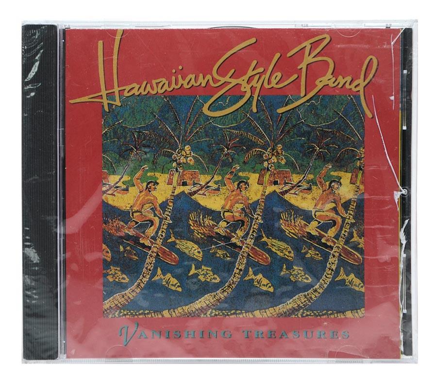 CD Hawaiian Style Band - Vanishing Treasures - Importado - Lacrado