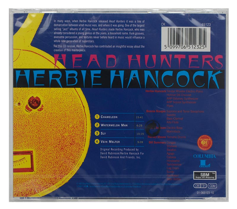 CD Herbie Hancock - Head Hunters - Importado - Lacrado