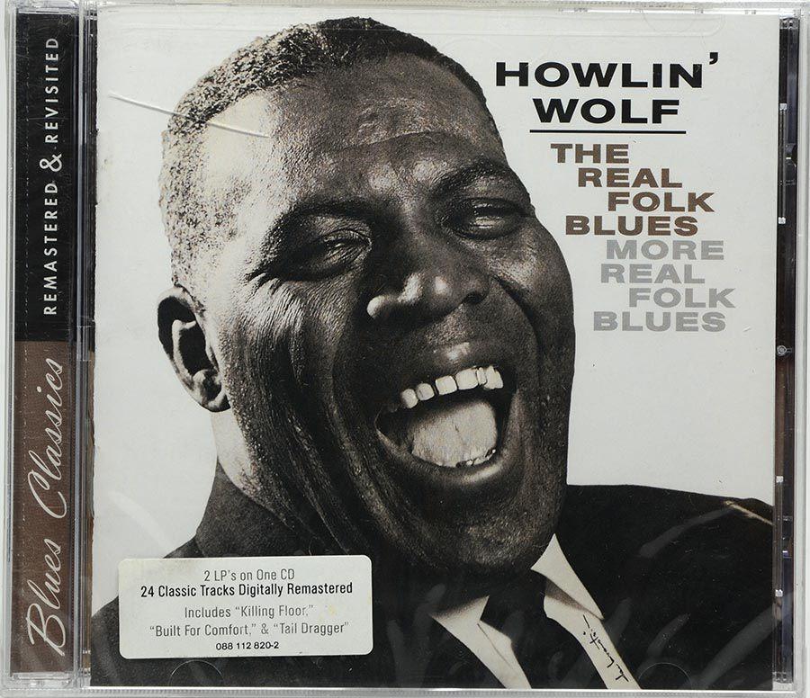 Cd Howlin' Wolf - The Real Folk Blues - More Real Folk Blues - Lacrado - Importado
