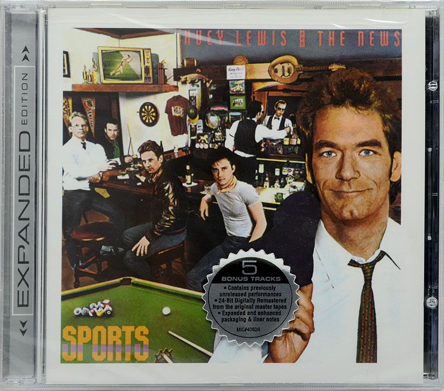 CD Huey Lewis And The News - Sports - Lacrado - Importado