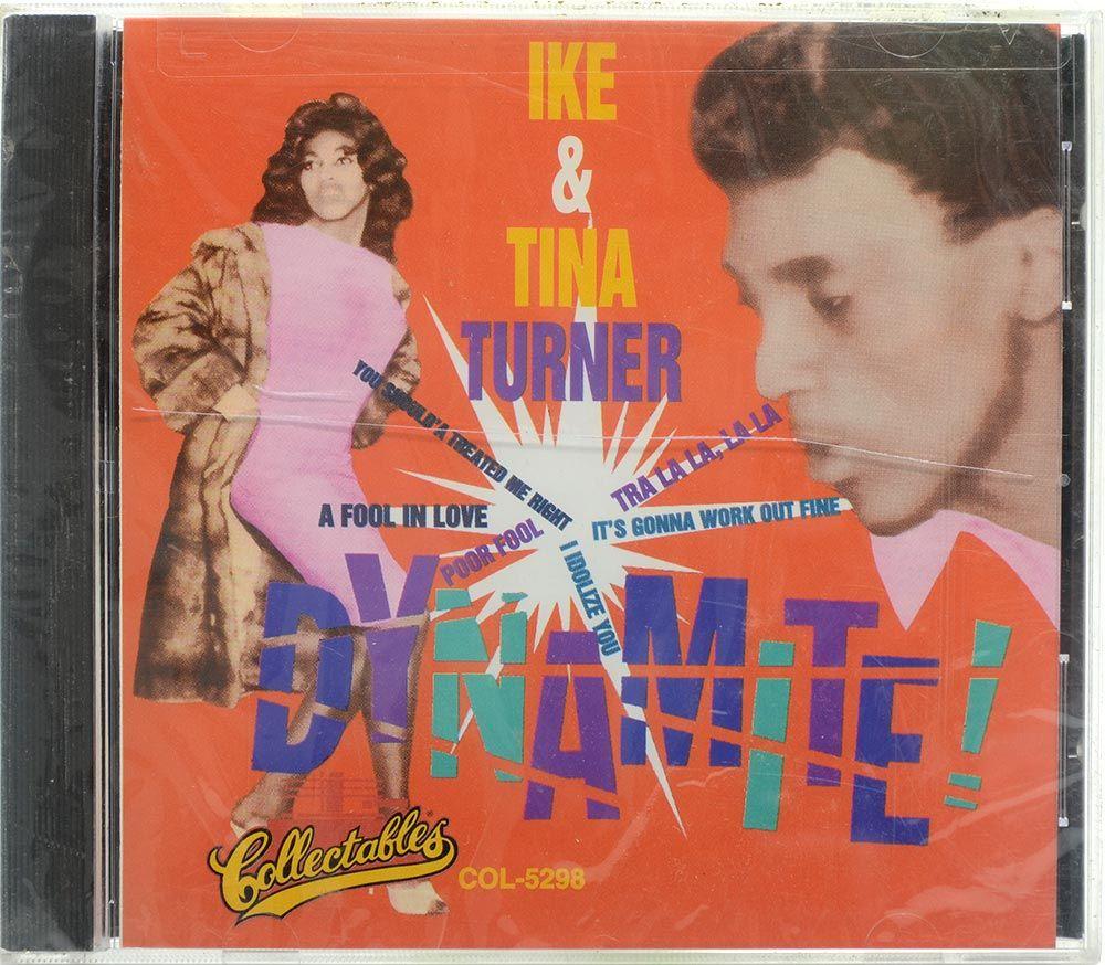 CD Ike & Tina Turner - Dynamite - Importado - Lacrado