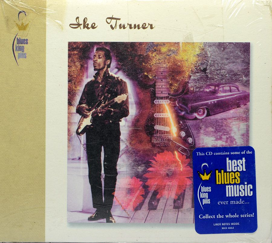 CD Ike Turner - Blues Kingpins - Lacrado - Importado