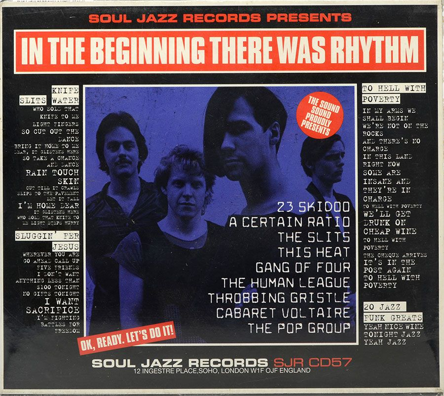 CD In The Beginning There Was Rhythm - Lacrado - Importado
