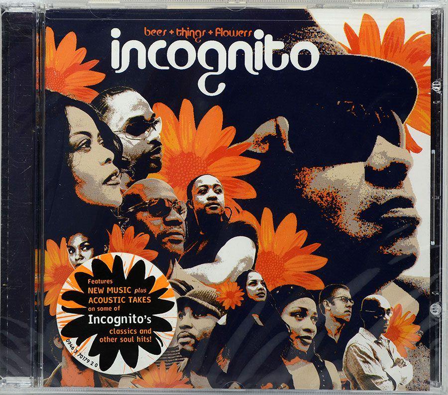 CD Incognito - Bees Things & Flowers - Lacrado - Importado