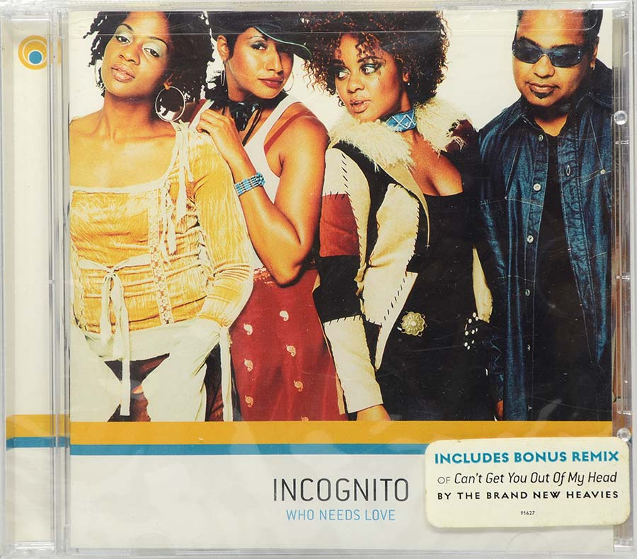 Cd Incognito - Who Needs Love - Lacrado - Importado