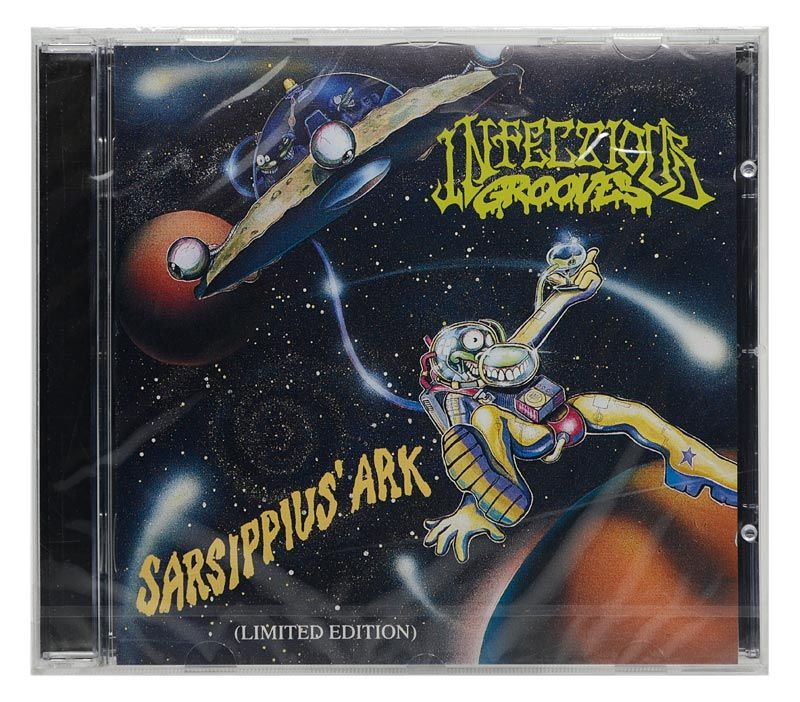 CD Infectious Grooves - Sarsippius Ark (Limited Edition) - Importado - Lacrado