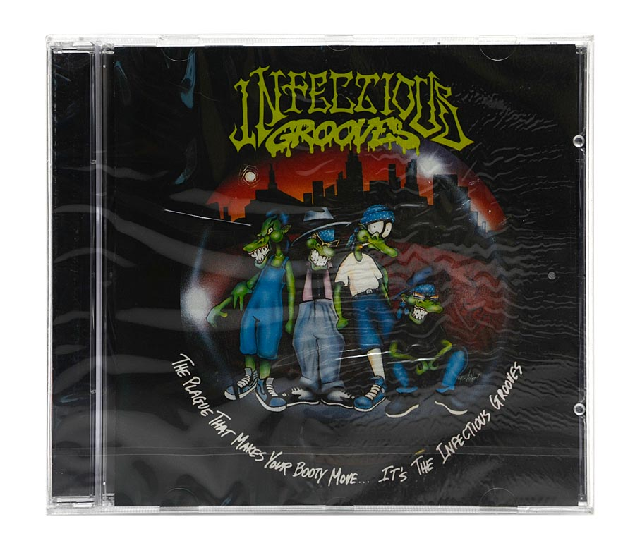 CD Infectious Grooves - The Plague That Makes Your Booty Move - Importado - Lacrado