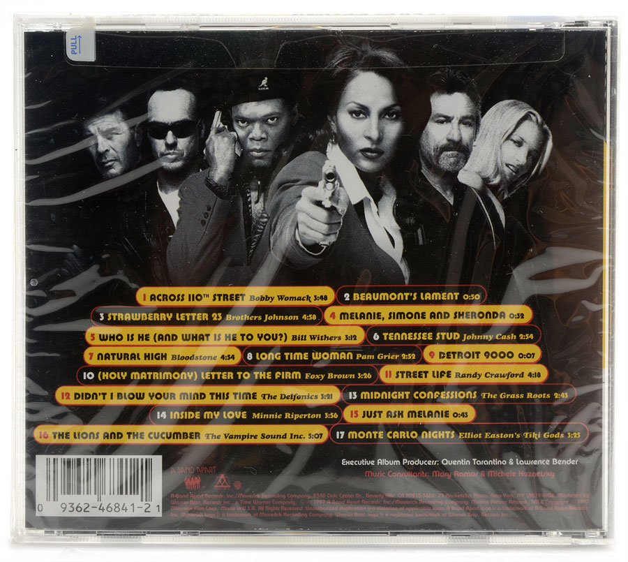 CD Jackie Brown - A Quentin Tarantino Film - Importado - Lacrado