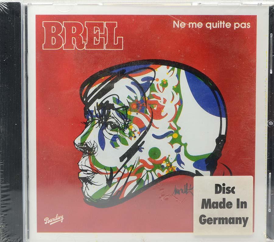 Cd Jacques Brel - Ne Me Quitte Pas - Lacrado - Importado
