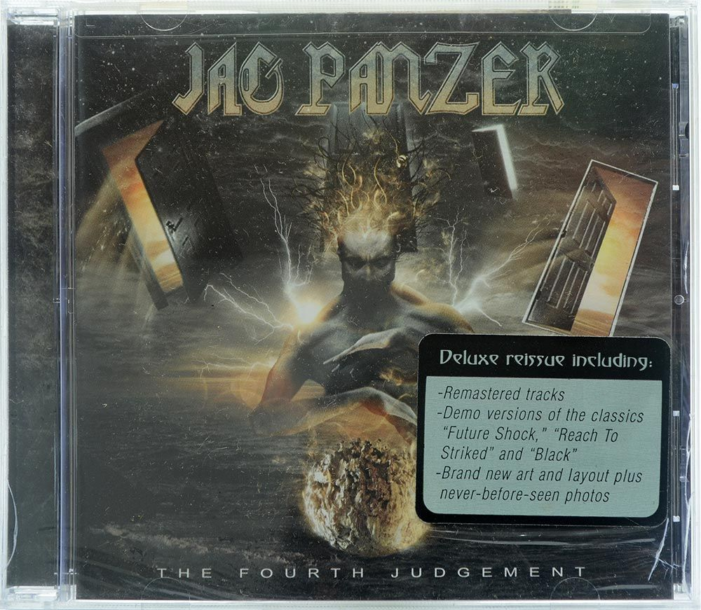 CD Jag Panzer - The Fourth Judgement - Importado - Lacrado