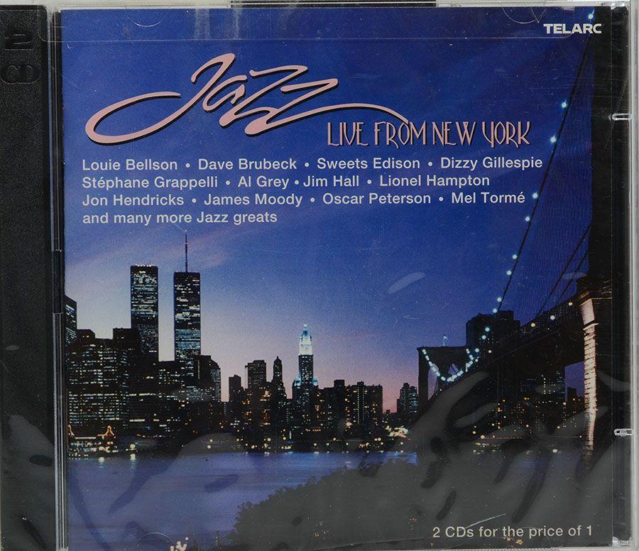 Cd Jazz: Live From New York - Vários Artistas - Lacrado - Importado