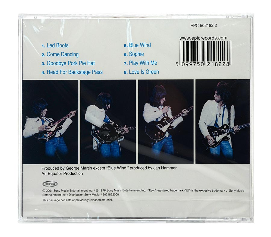 CD Jeff Beck - Wired - Importado EU - Lacrado