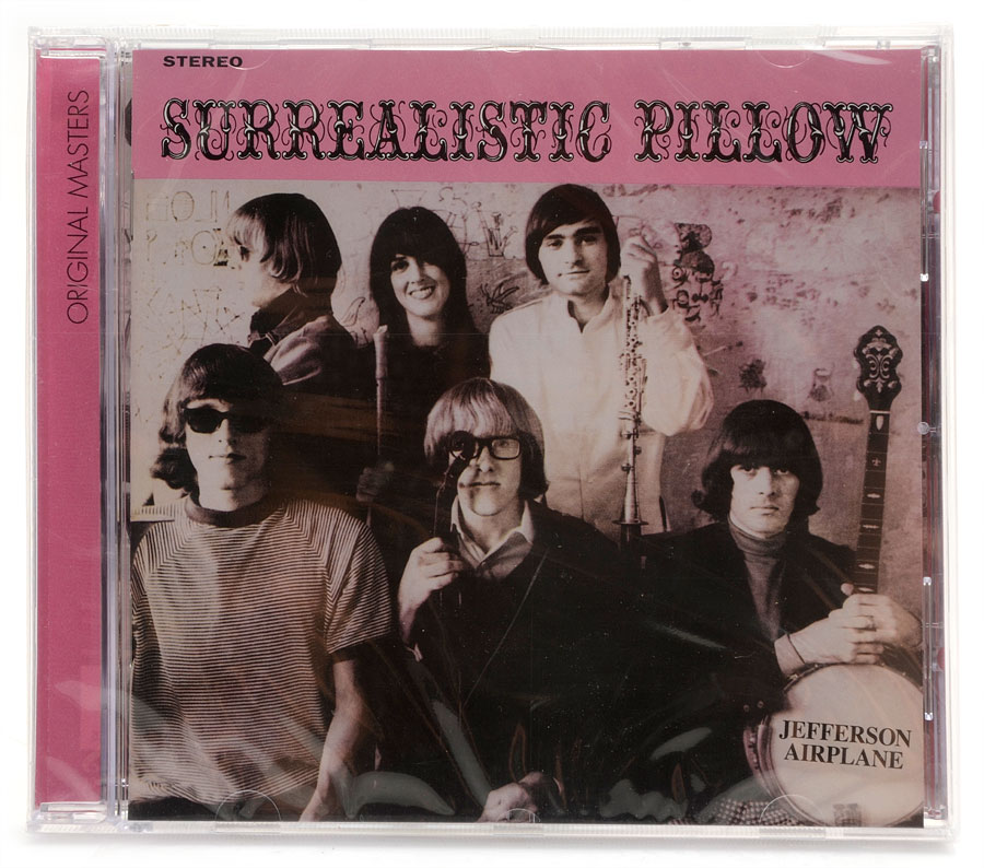 CD Jefferson Airplane - Surrealistic Pillow - Importado - Lacrado