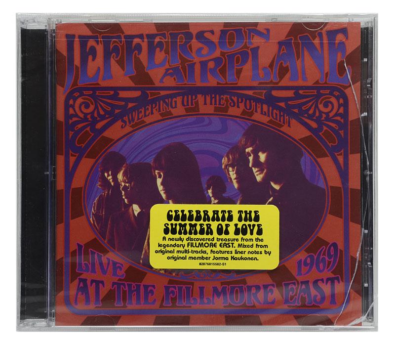 CD Jefferson Airplane - Sweeping Up The Spotlight: Live At The Fillmore East 1969 - Importado USA - Lacrado