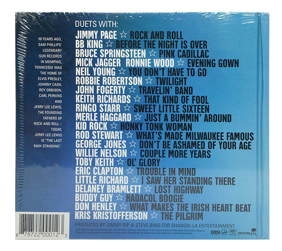 Cd Jerry Lee Lewis - Last Man Standing - The Duets - Importado - Lacrado