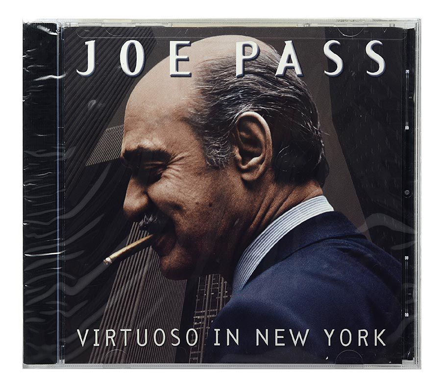 CD Joe Pass - Virtuoso In New York - Importado - Lacrado