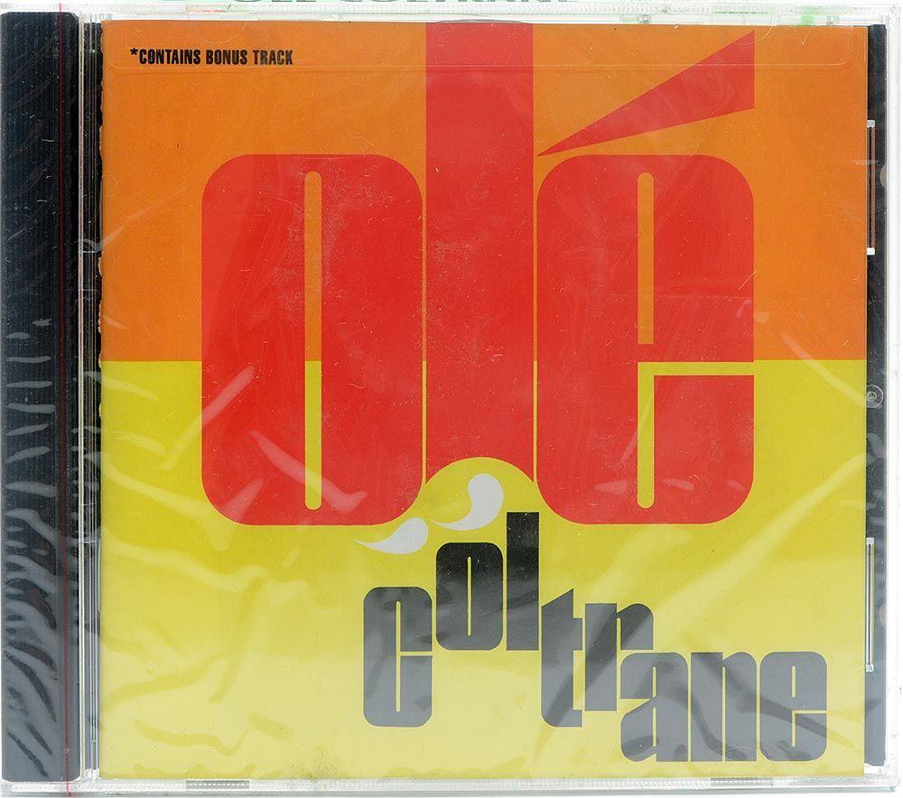 CD John Coltrane - Olé Coltrane - Importado - Lacrado
