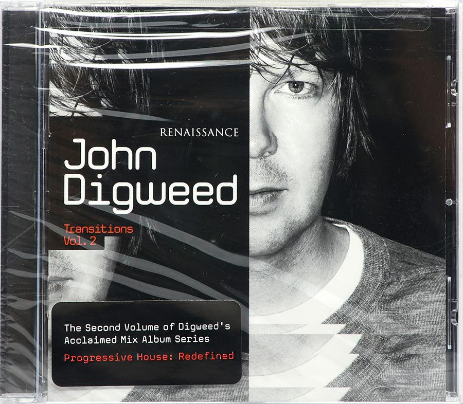 Cd John Digweed - Renaissance Transitions Vol 2  - Lacrado - Importado
