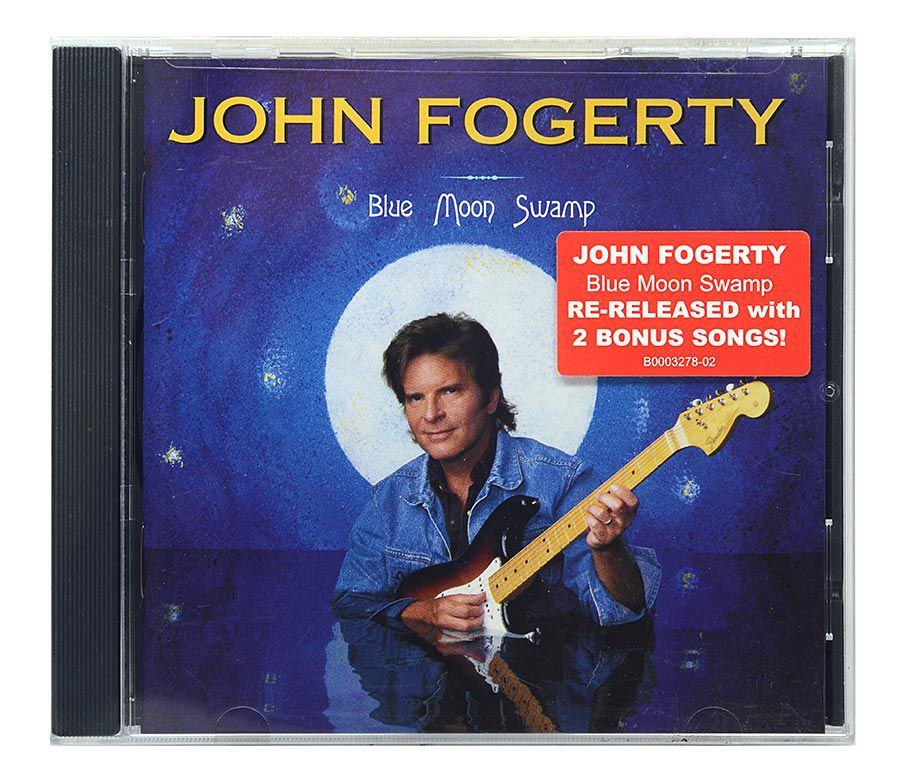 CD John Fogerty - Blue Moon Swamp - Importado - Lacrado