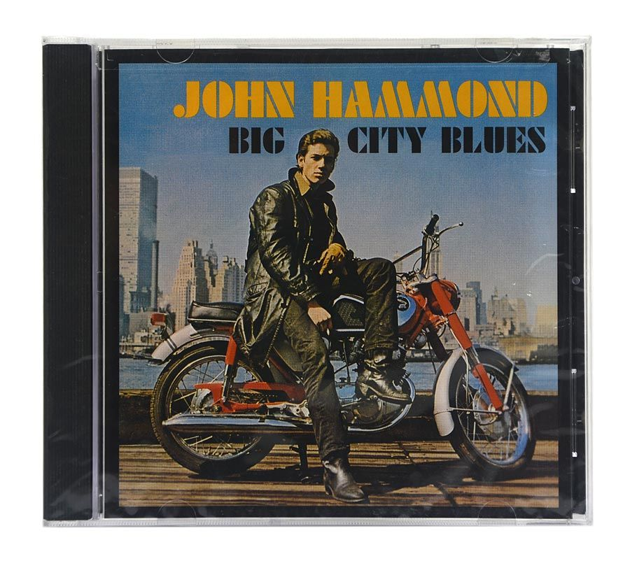 Cd John Hammond - Big City Blues - Importado - Lacrado