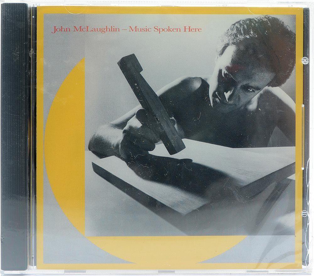 CD John McLaughlin - Music Spoken Here - Importado - Lacrado