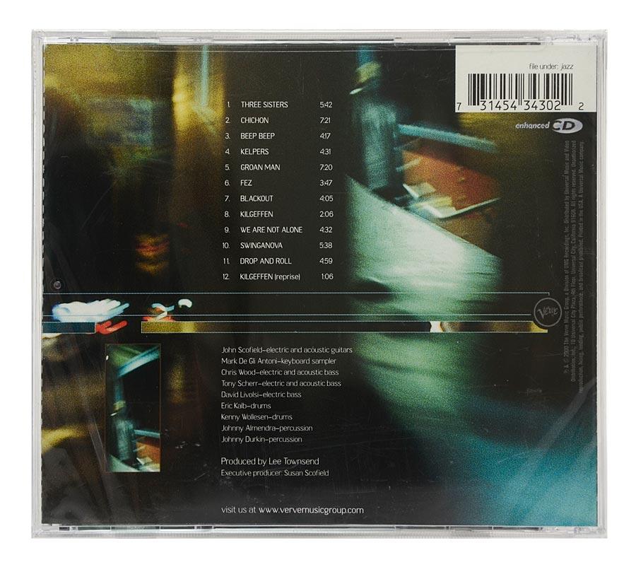 CD John Scofield - Bump - Importado - Lacrado