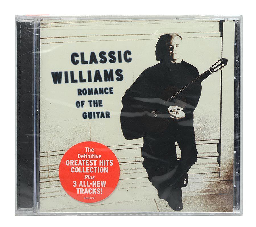 CD John Williams - Classic Williams: Romance Of The Guitar - Importado - Lacrado