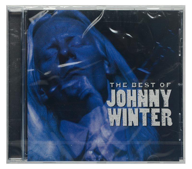 CD Johnny Winter - The Best Of Johnny Winter - Importado - Lacrado