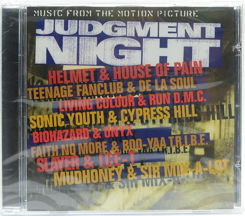 CD Judgment Night - Music From The Motion Picture - Lacrado - Importado