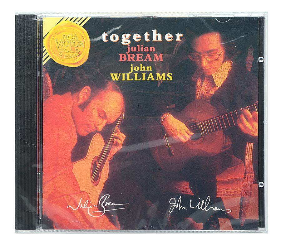 Cd Julian Bream & John Williams - Together - Importado - Lacrado