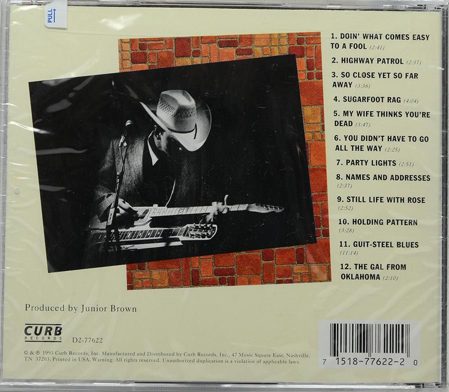 Cd Junior Brown - Guit With It - Lacrado - Importado