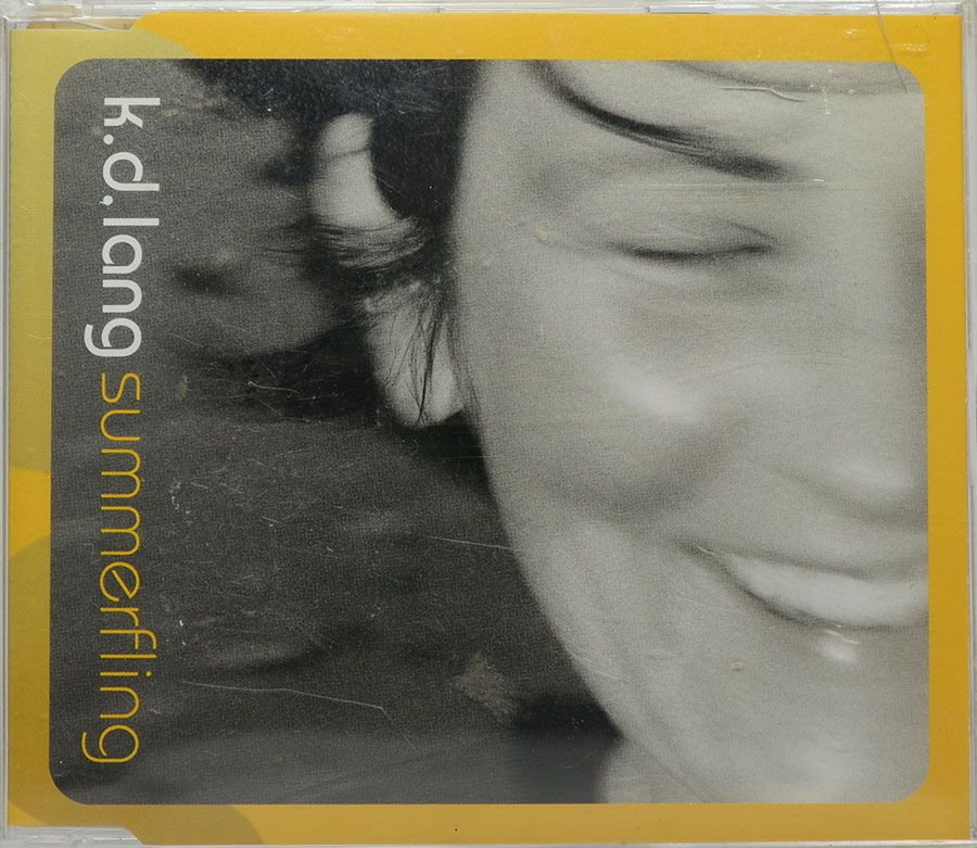 CD K. D. Lang - Summerfling - Lacrado - Importado