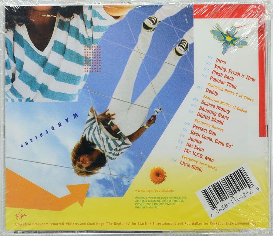 CD Kelis - Wanderland - Lacrado - Importado