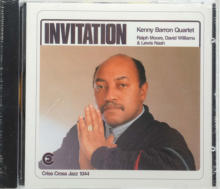 Cd Kenny Barron Quartet - Invitation - Lacrado - Importado