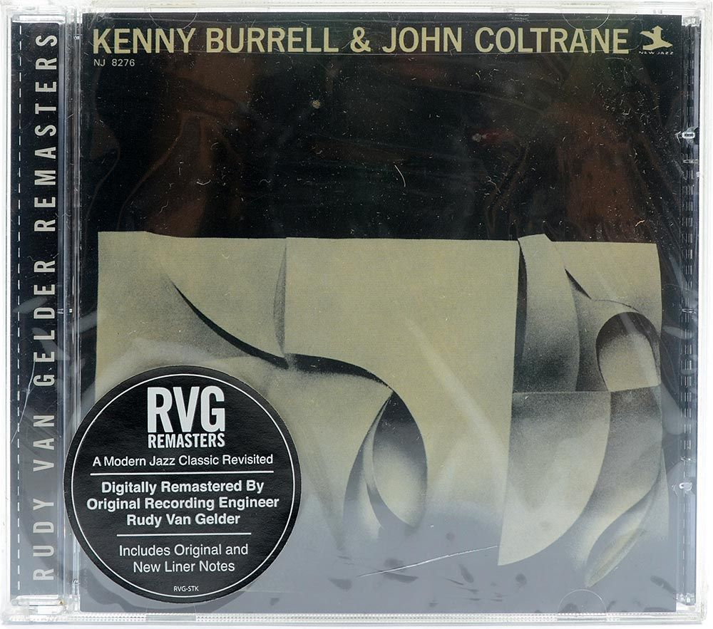 CD Kenny Burrell & John Coltrane - Importado - Lacrado