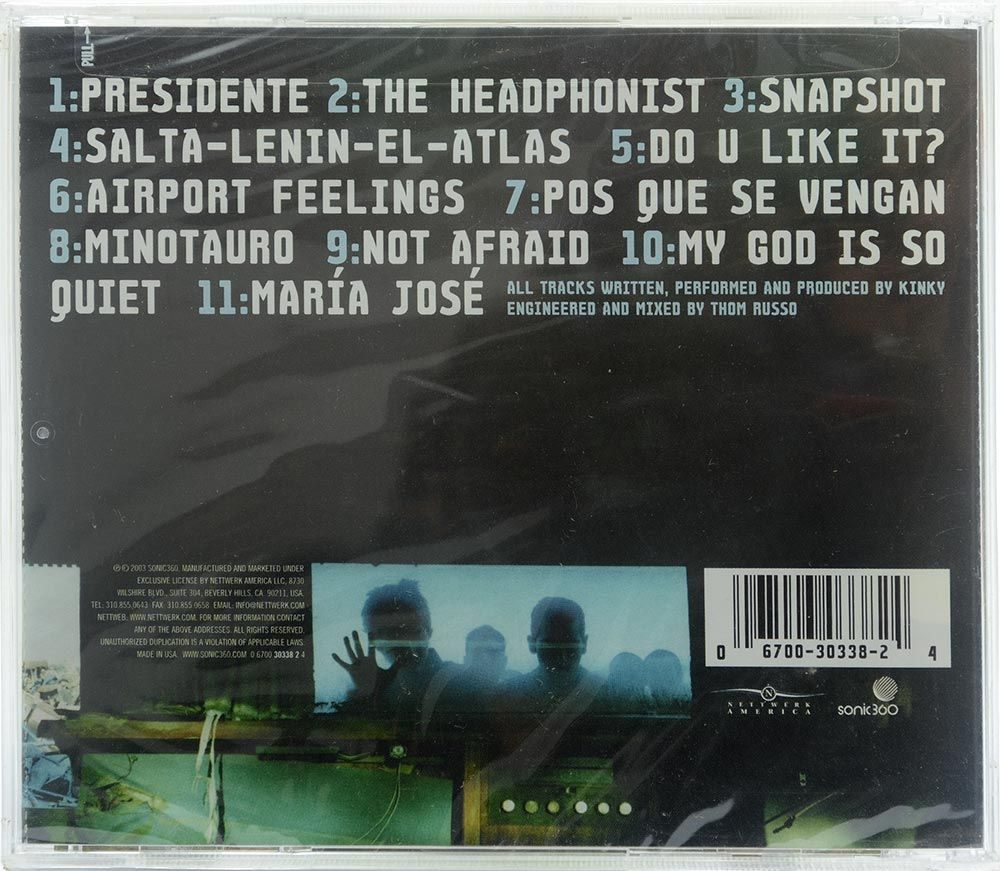 CD Kinky - Atlas - Importado - Lacrado