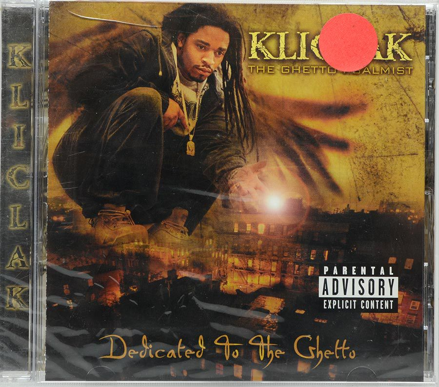 CD Kliclak - Dedicated To The Ghetto - Lacrado - Importado