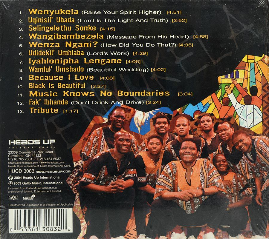 CD Ladysmith Black Mambazo - Raise Your Spirit Higher - Lacrado - Importado