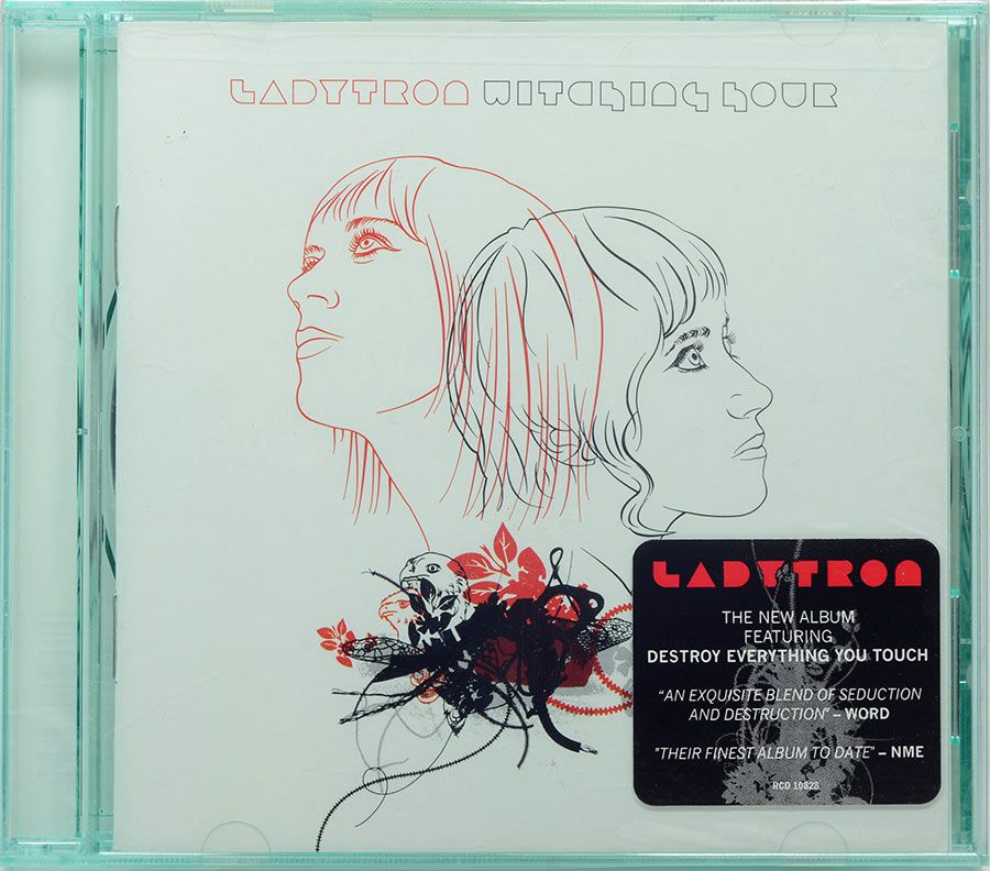 CD Ladytron - Witching Hour - Lacrado - Importado
