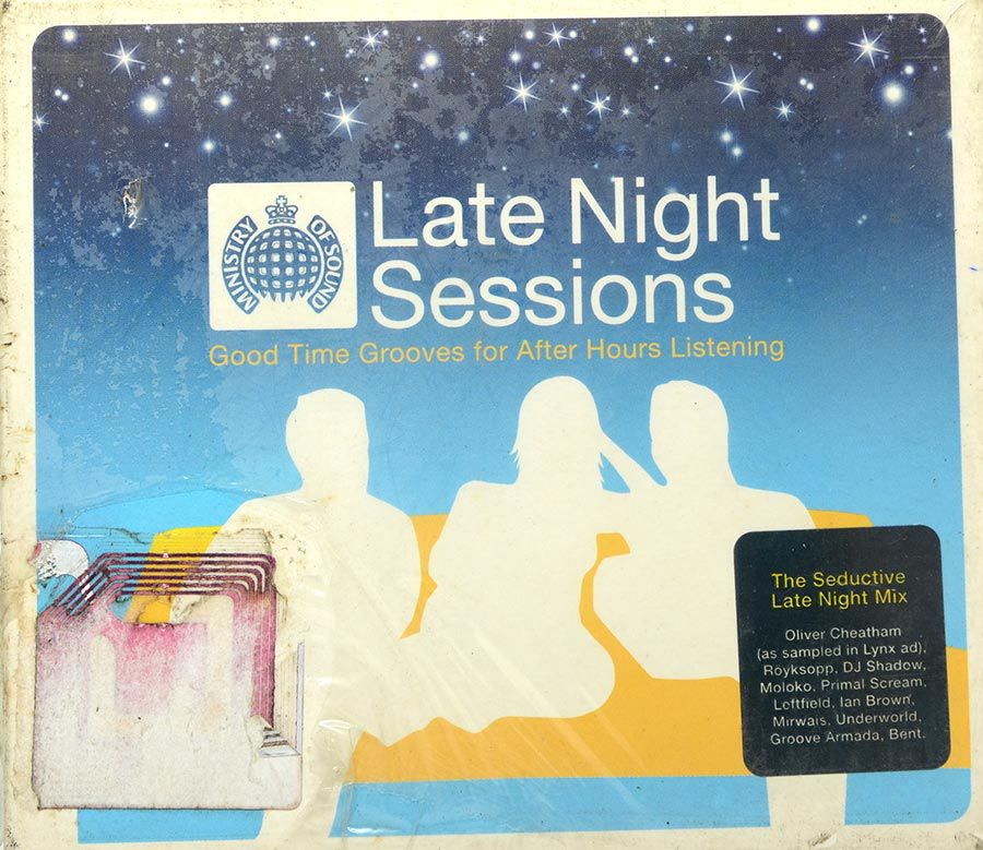 CD Late Night Sessions - Good Time Grooves For After Hours Listening - Lacrado - Importado