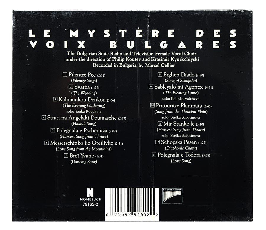 CD Le Mystere Des Voix Bulgares - Importado - Lacrado
