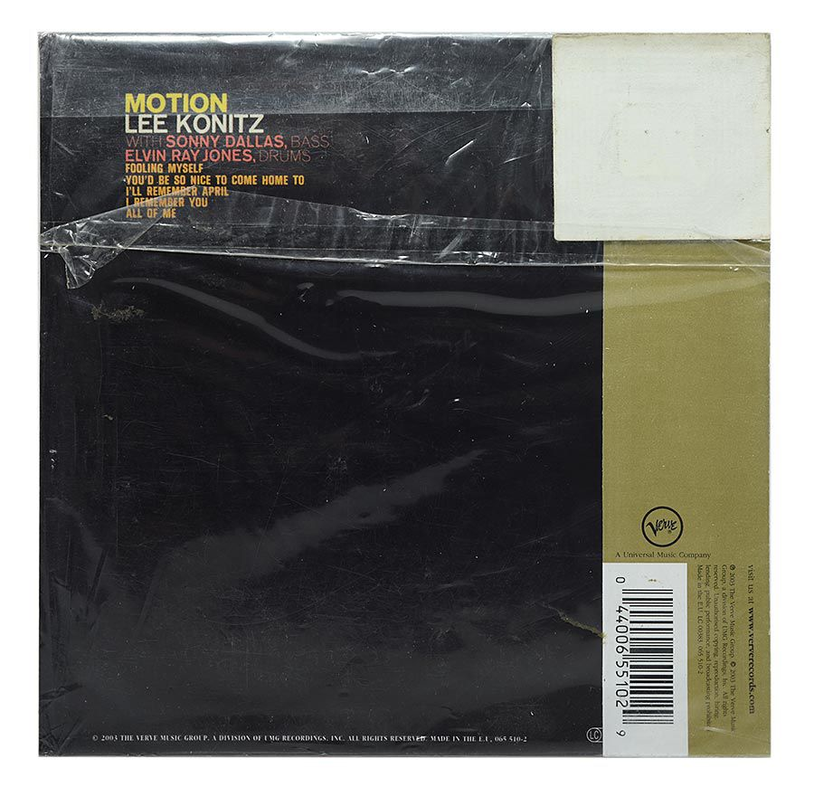 CD Lee Konitz - Motion - Mini LP - Importado EU - Lacrado