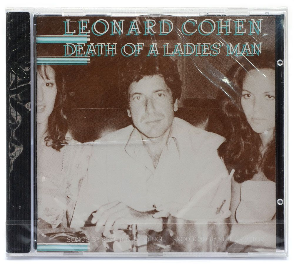 CD Leonard Cohen - Death Of A Ladies Man - Importado Lacrado